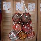 Champion Sports Football Basketball Storage Bag Carry Net Eq