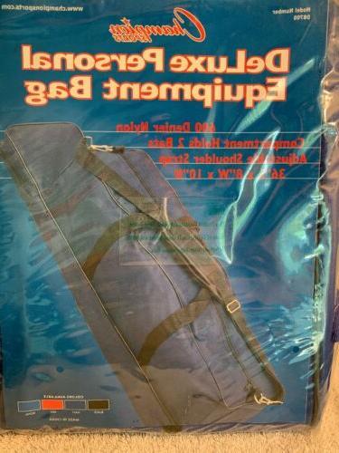 "Champion Deluxe All Sports Equipment Bat Bag 36"""