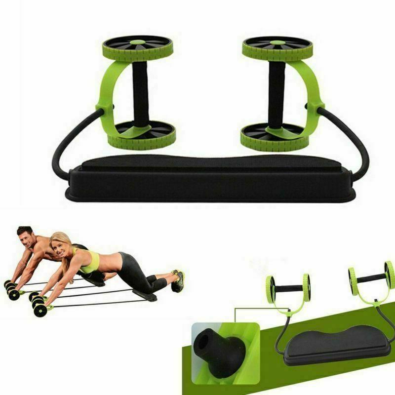 Double Rope Waist Abdominal Slimming Gym Fitness
