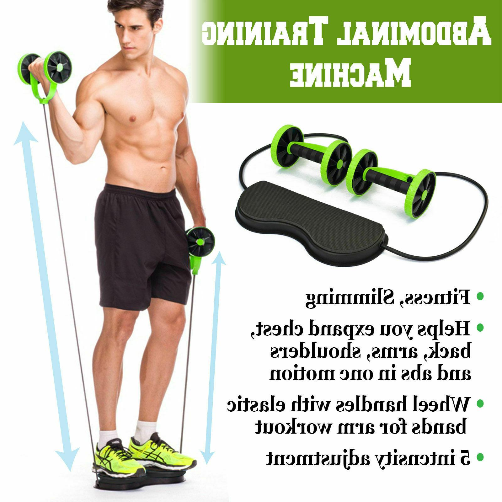 Double Ab Rope Gym