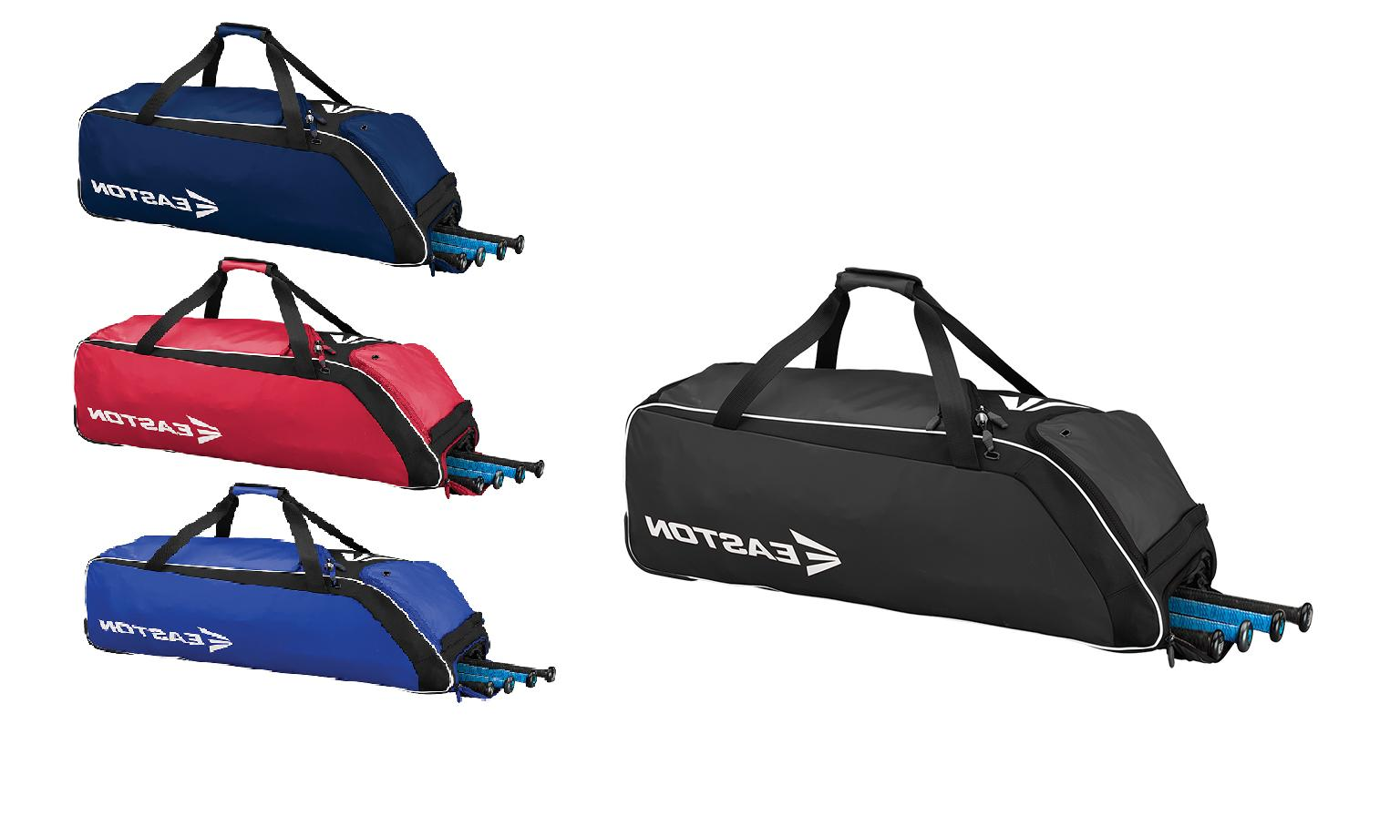 e510w baseball softball wheeled bat equipment bag