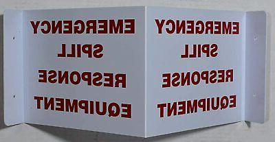 Emergency Spill Response Equipment 3D Projection Sign/Emerge