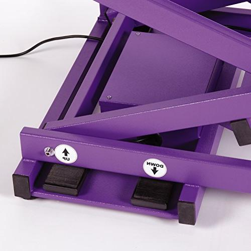 Xtend Electric Table, Purple