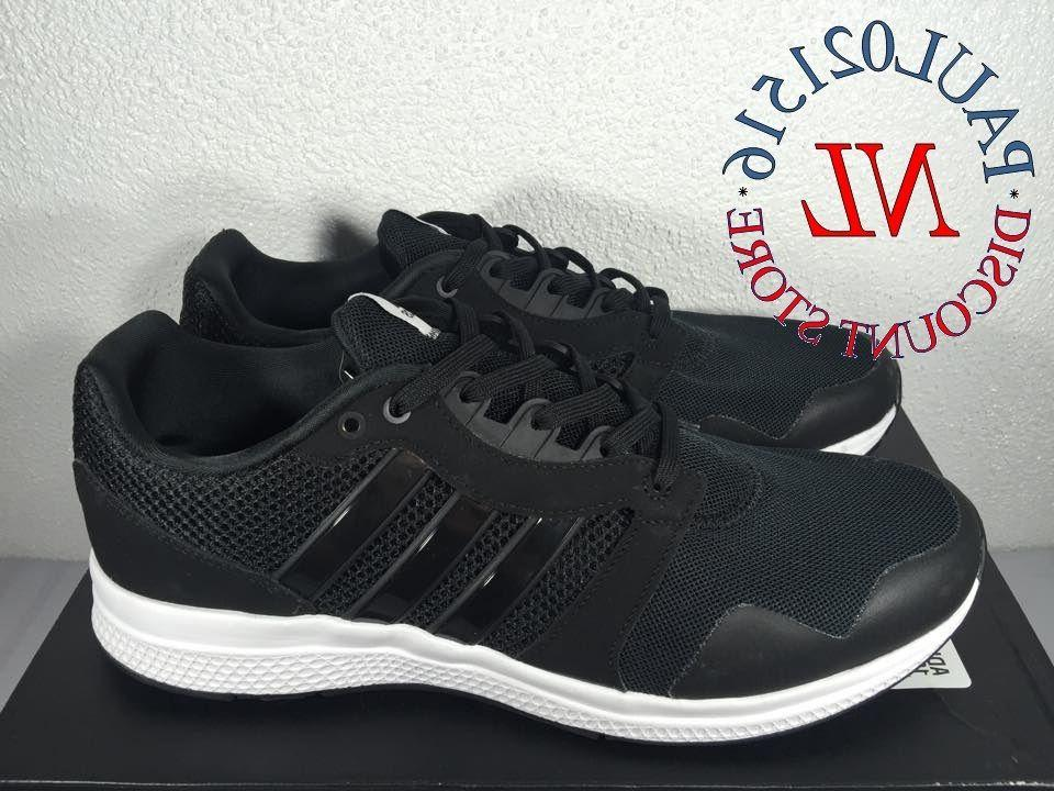 NEW Adidas Equipment 16 m Men's Running Shoes ~ Black ~ Pick
