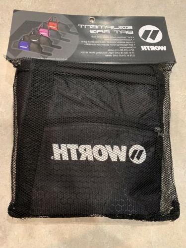 equipment bat bag sports black nwt baseball