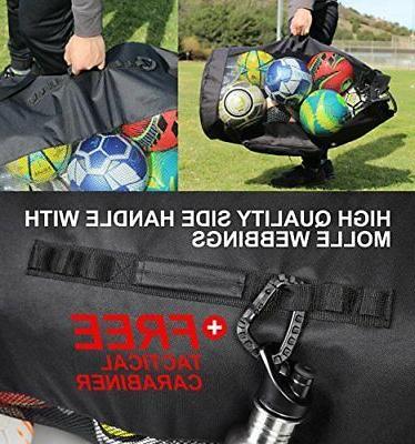 Fitdom Extra Duty Ball Mesh Bag sporting goods