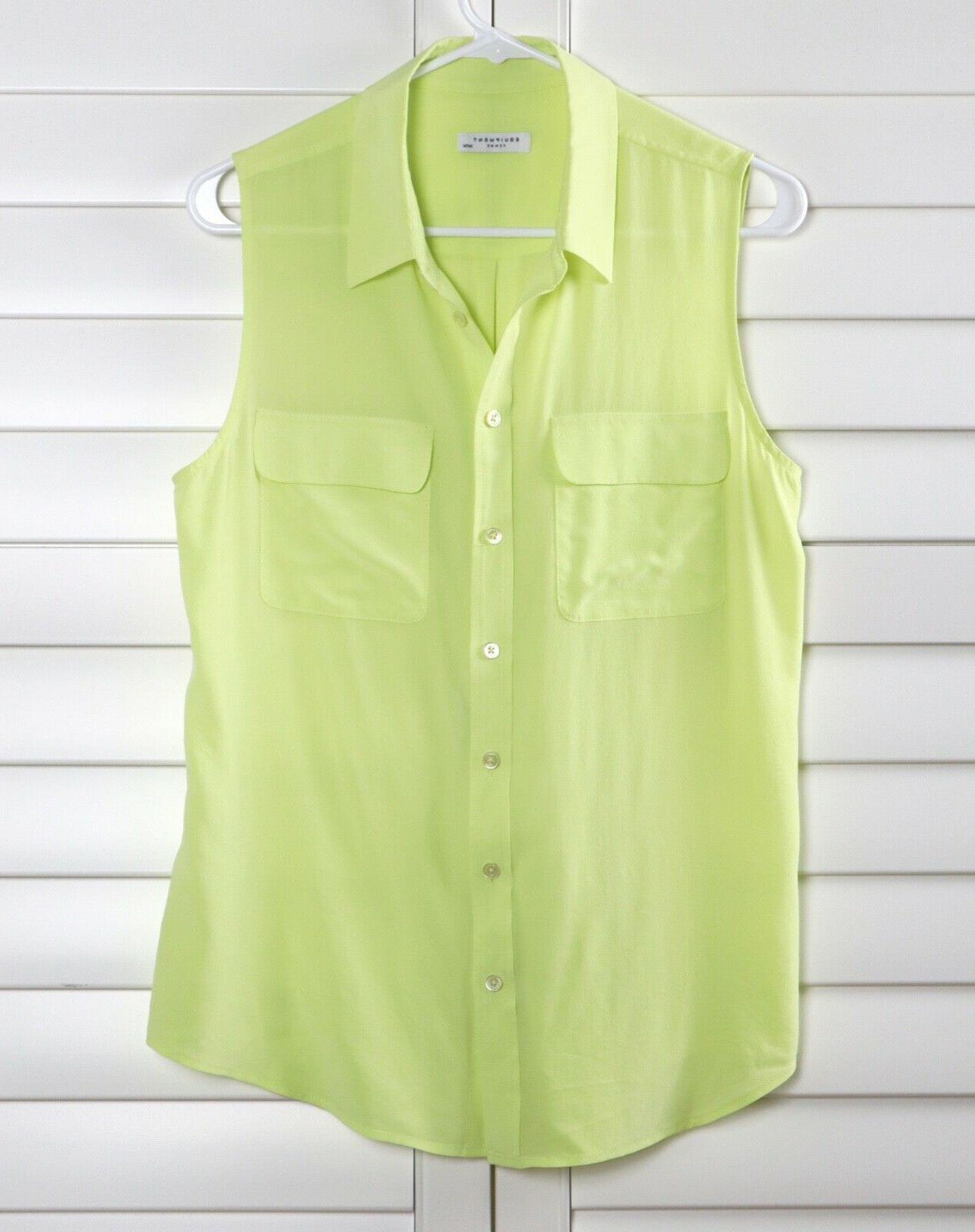 EQUIPMENT Femme $188 Slim Shirt Size