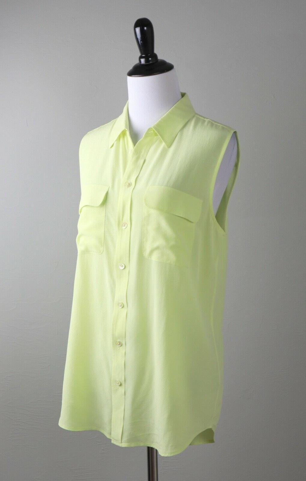 EQUIPMENT Slim Shirt Top Size