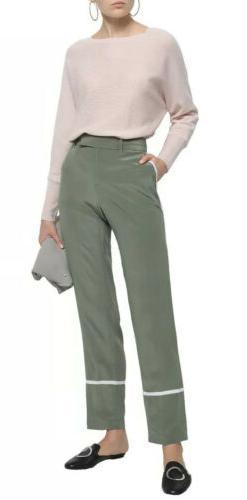 Equipment Femme Florence Women's Pants Medium Tuxedo Side St