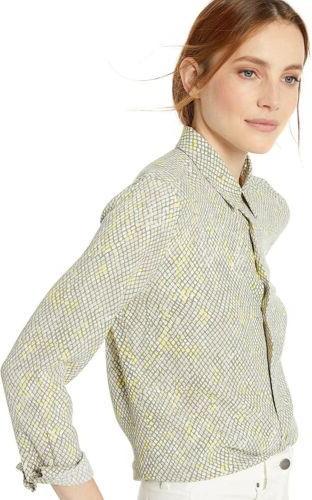 femme snake print essential shirt size s