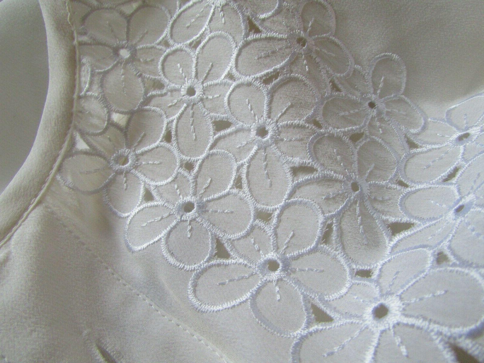 EQUIPMENT Femme Embroidery Blouse Sz M