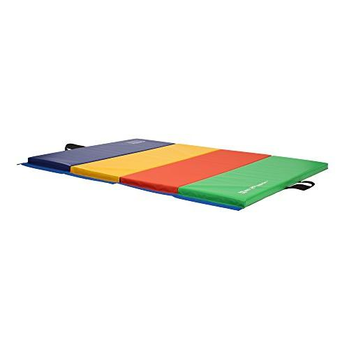 We Folding Exercise Mats, Multicolor