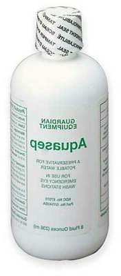 GUARDIAN EQUIPMENT G1540BA Eye Wash Preservative,8 oz.
