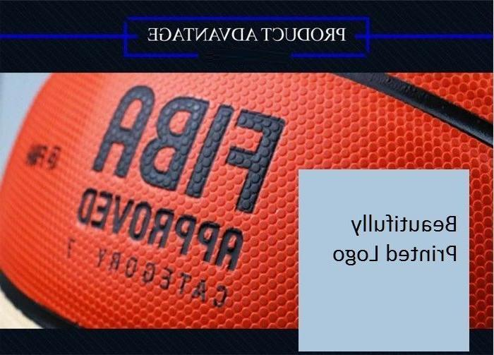 Molten 7 PU Men's Basketball Fun Training w/Bag Pin
