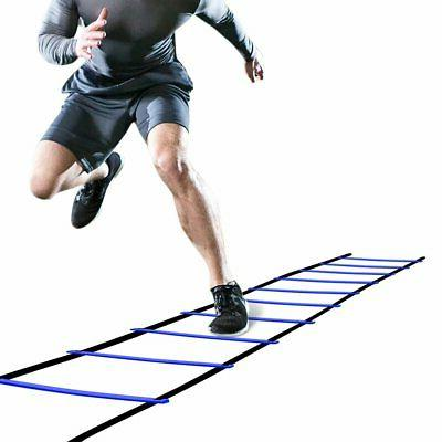 GHB Pro Agility Ladder Flat Rung with Carrying Bag