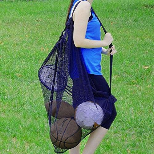 Pro-traveller Heavy Ball Bag,Drawstring Storage Bag for Soccer, Swimming Shoulder Strap
