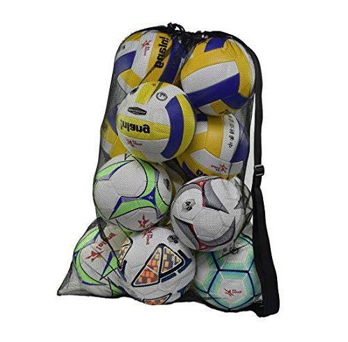 heavy duty mesh ball bag