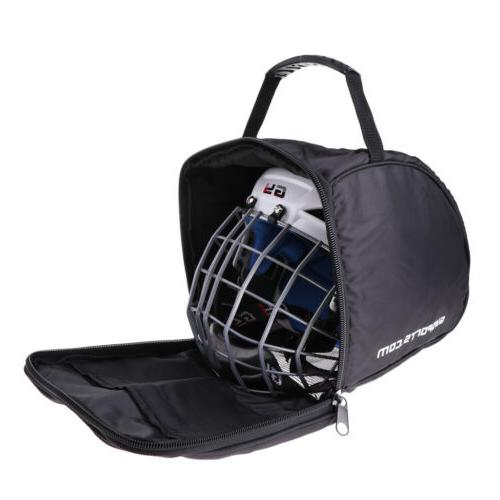 Ice Goalie Helmet Heavy Zipper Equipment Storage Bag