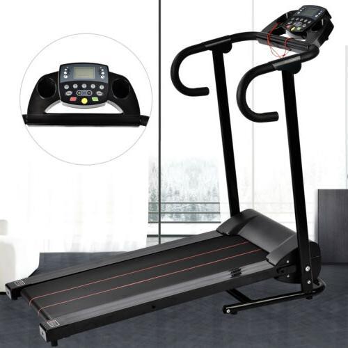 electric folding motorized treadmill running machine portabl