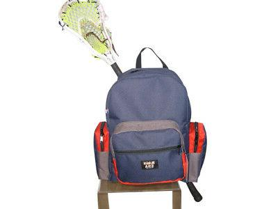 lacrosse backpack lacrosse equipment backpack hidden stick