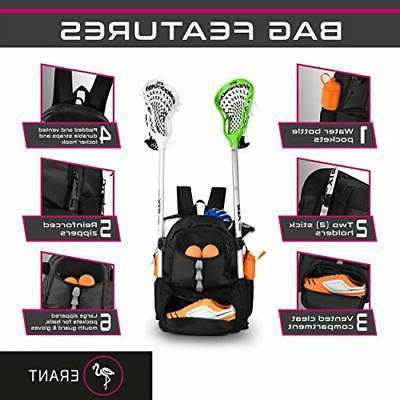 ERANT Bag Backpack – Lacrosse Bags Boys