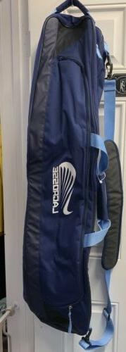 "NIKE LACROSSE Equipment Bag LAX 44"" Long Navy Blue- New"