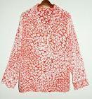 Equipment Landon Pajama Style Silk Shirt in Cheetah Leopard
