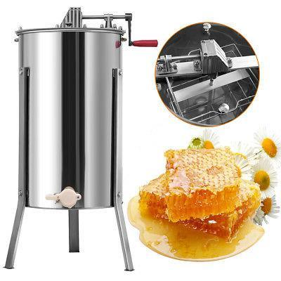 Goplus 2 Honey Extractor Beekeeping Equipment Stainless