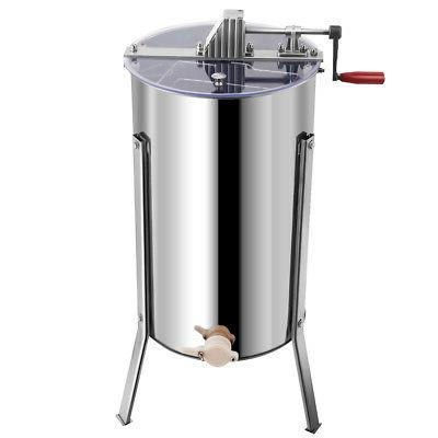 Goplus Large 2 Frame Honey Extractor Stainless Steel