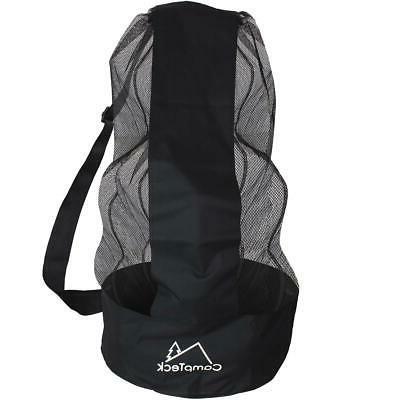 large drawstring soccer ball bag net mesh