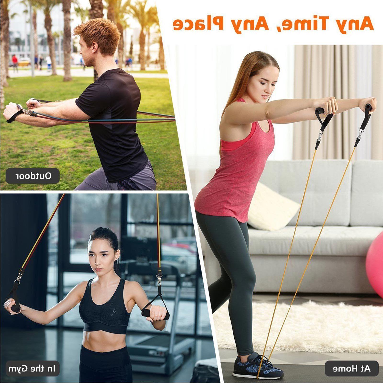 Pilates Tube Rope Gym Yoga Fitness