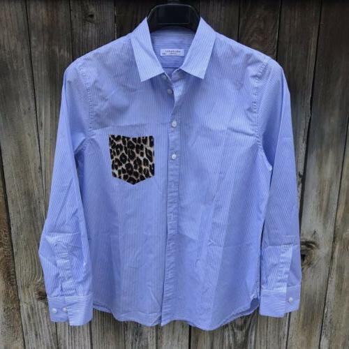 Equipment Pocket Stripe Leopard Pocket