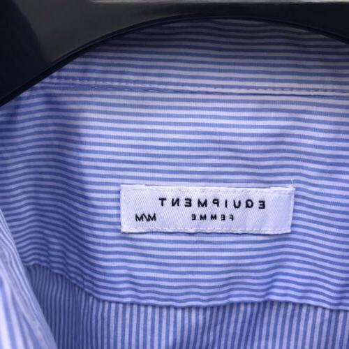 Equipment 'Leema' Size Pocket Detail Shirt Leopard Pocket