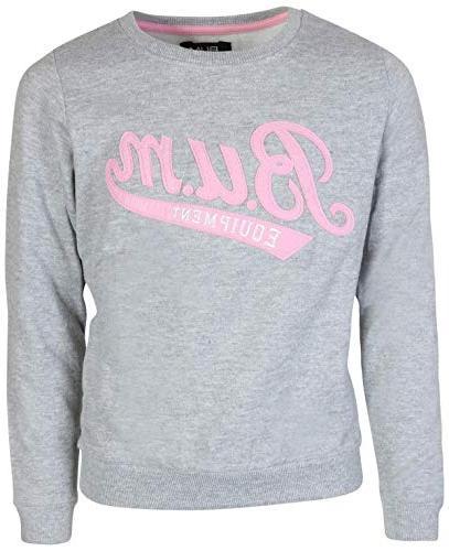B.U.M. Equipment Sleeve Pullover Grey/White,