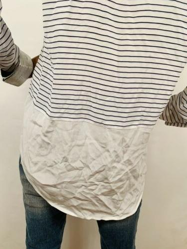 Equipment Top Sheer 100% Silk Button Shirt Blouse Long Slvs