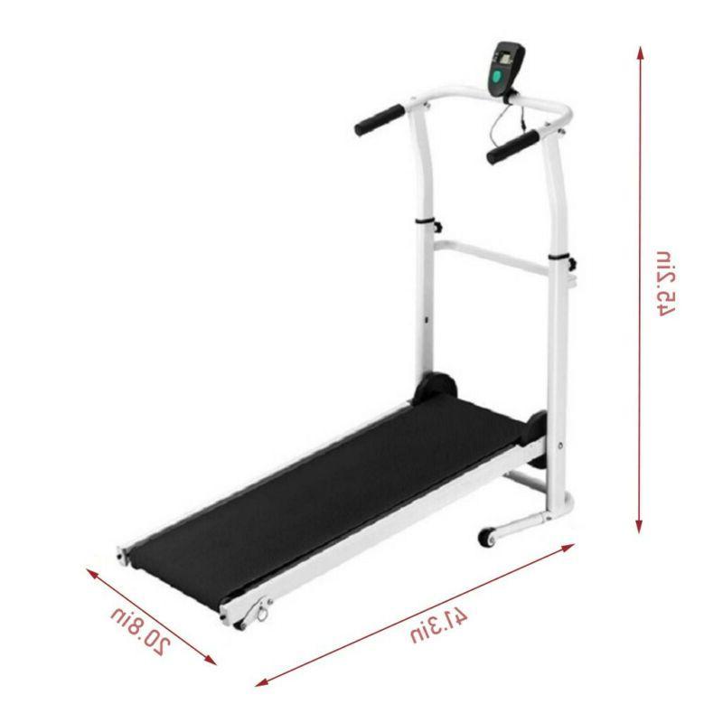 Manual Treadmill Equipment Home Folding Machine