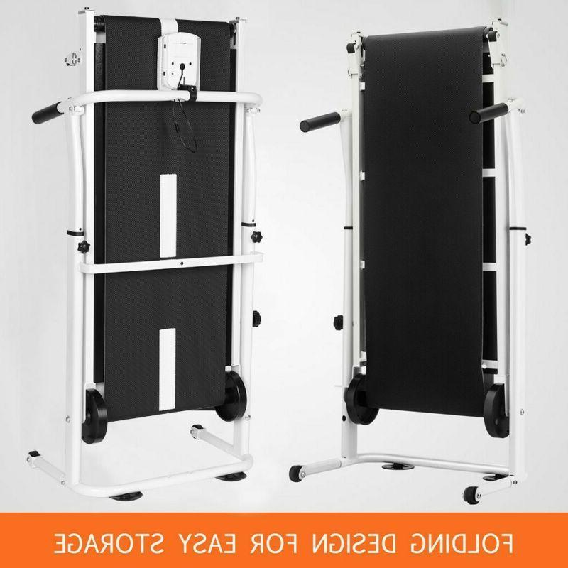 Manual Running Cardio Equipment Folding Machine