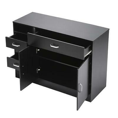 MDF Beauty Salon Styling Station Cabinet Equipment Drawer Furniture