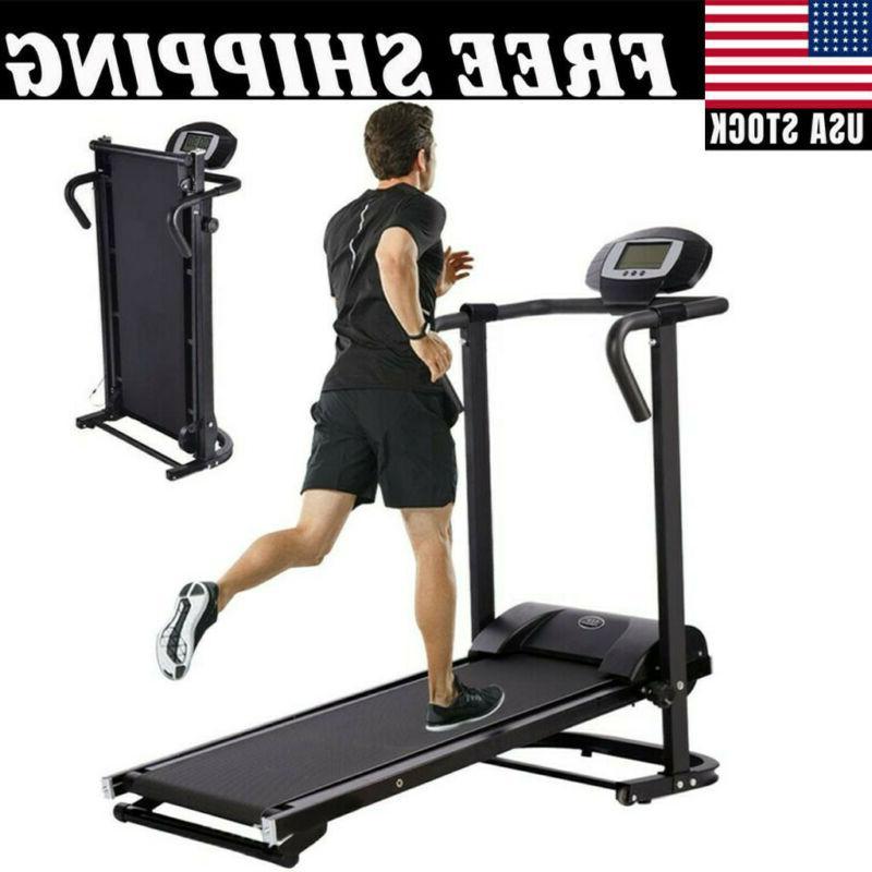 Mechanical Treadmill Folding Machine Equipment Home Gym