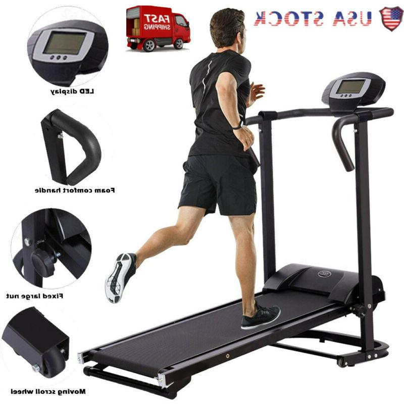 mechanical treadmill fitness health folding running machine