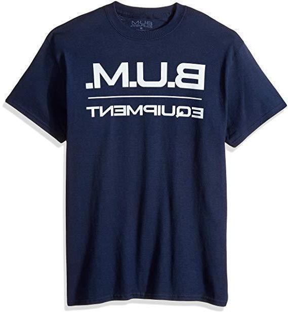 men s basic logo b u m