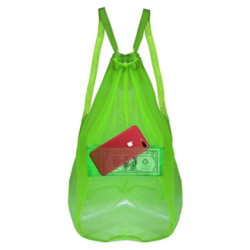 Mesh Bag Ball Toy - for Basketball Pool