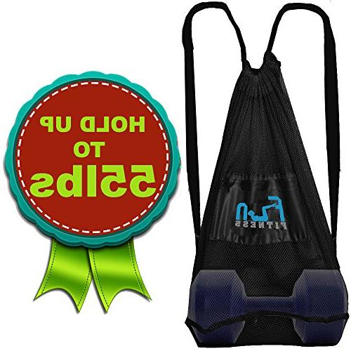Mesh Bag Ball Beach Toy Large Backpack for