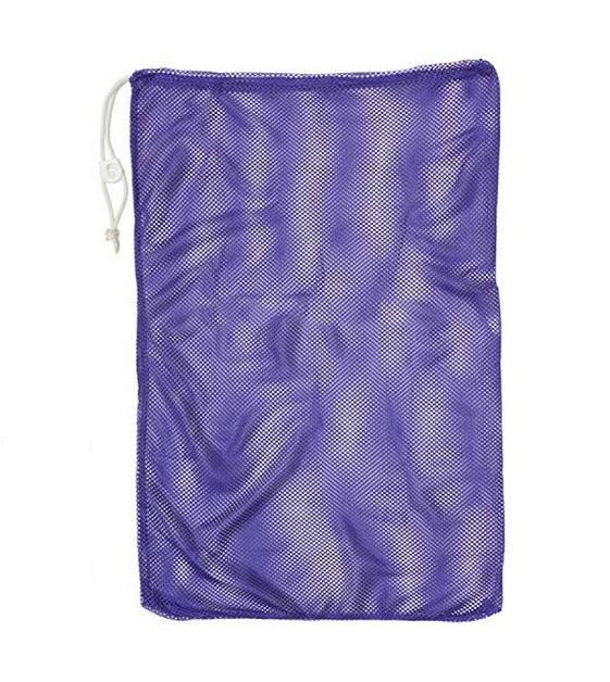 mesh equipment bag purple size 24 x