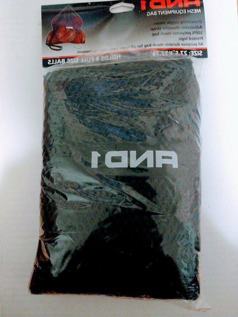 And1 Mesh Carrying Bag Sports Basketball Soccer