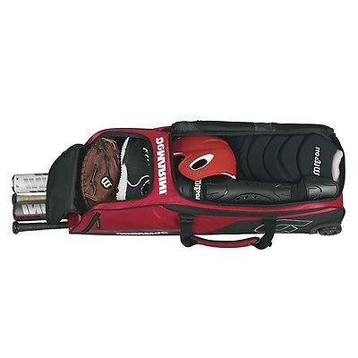DeMarini Momentum Wheeled Baseball Bat Bag