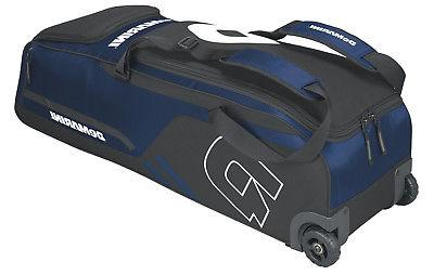 DeMarini Momentum Wheeled Baseball Equipment Bag, New