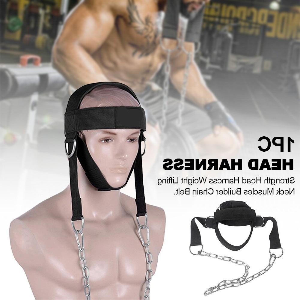 Neck Muscles Builder <font><b>Equipment</b></font> Trainer Gym D Lifting Strength Harness
