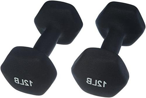 neoprene dumbbells 12 pound