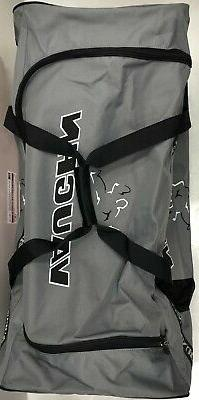 "New hockey goalie three wheeled bag 43"""